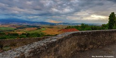from the walls of pienza (Rex Montalban Photography) Tags: italy europe tuscany pienza hdr nikond600 rexmontalbanphotography gladiatorroad agriturismopodereterrapille