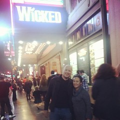 At Wicked with @reigny!