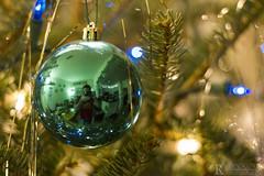 Christmas Orb Selfie