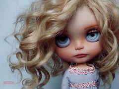 Iriscustom Ooak Blythe Art Doll Shirley