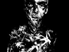 DSCN1884lklnn (philip.lea1994) Tags: family white black art college portraits project paint camouflage backround
