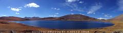 Surreal Experience !! (C@MARADERIE) Tags: pakistan panorama lake color nature landscape colorful natural naturism northernareas skardu sheosar sheosarlake skarduvalley lakesofpakistan gilgitbaltistan naturismphotography lakesheosar