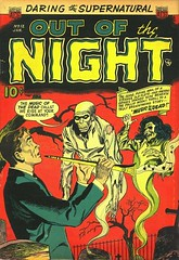 Out of the Night 12 (Michael Vance1) Tags: art comics weird artist aliens adventure comicbooks ghosts monsters cartoonist anthology