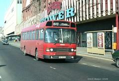 Ribble 830 820313 Blackpool [jg] (maljoe) Tags: nbc national rms leyland ribble nationalbuscompany leylandnational ribblebuses ribblemotorservices