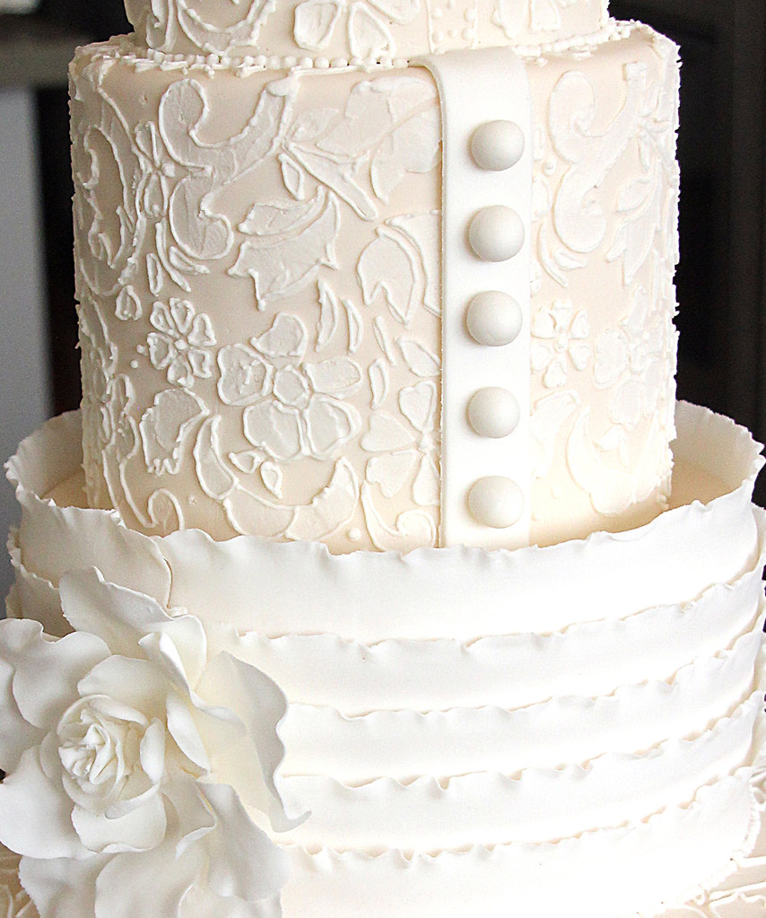 wedding cake stencil the world s best photos of lace and piping flickr hive mind 8770