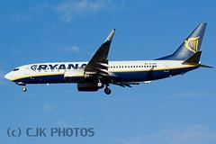 EI-DAF (CJK PHOTOS) Tags: code aircraft airline type boeing ryanair information registration sn modes b738 29939 7378as eidaf 4ca1b7