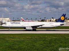 Lufthansa --- Airbus A321 --- D-AIDQ (Drinu C) Tags: plane aircraft sony airbus panning lufthansa dsc mla a321 lmml hx100v daidq adrianciliaphotography