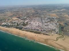 Vista aérea de Conil de la Frontera