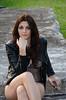 DSC_4822-2 (TimMurphyPhotography) Tags: girl leather model badass jacket bikini brunette cheyenne bikinimodel
