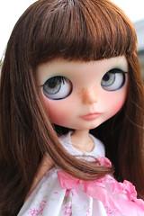 That wind keeps blowing my hair! (Abella Blythe aka Gardsabs007) Tags: champs blythe custom elysees petite abella elliemoe jejeuner