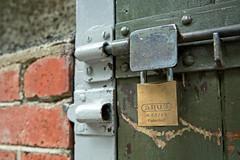 Abus environmental (Flimin) Tags: lock padlock latch canon5dmarkiii canon5diii 100padlocks