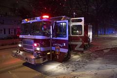 262B1614ES (brianjdamico) Tags: firefighters bfd braintree braintreema truckfire vehiclefire braintreefiredepartment