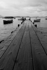 pontoon in the rain (L'Instant H Photography) Tags: sea france fujifilm pontoon frenchriviera laseynesurmer frenchrivera greatphotographers plagebelgantier