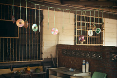 Film NO.1 -6 (Enix Xie) Tags: old building film village kodak taiwan oldbuildings taichung past humanities wufeng f2a  photomic   kodakcolorplus200 nikonf2photomica militarydependentsvillage traditionla