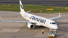 Finnair Embraer E190/195 OH-LKO (Kris SD) Tags: finnair dusseldorf pushback embraer dus eddl e190195 ohlko