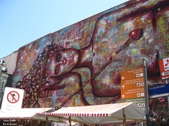 Flecha (Janos Graber) Tags: riodejaneiro graffiti grafitti arte centro pintura placas ruadolavradio