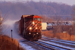 Last Light Cowel (sdl39hogger) Tags: britishcolumbia canadianpacific cp ge generalelectric richwood bcol watertownsub reesevillemarsh