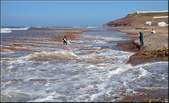 in the waves (mhobl) Tags: b beach water surf surfing morocco maroc sidiifni