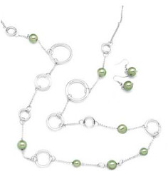 Glimpse of Malibu Green Necklace K1A P2810A-5
