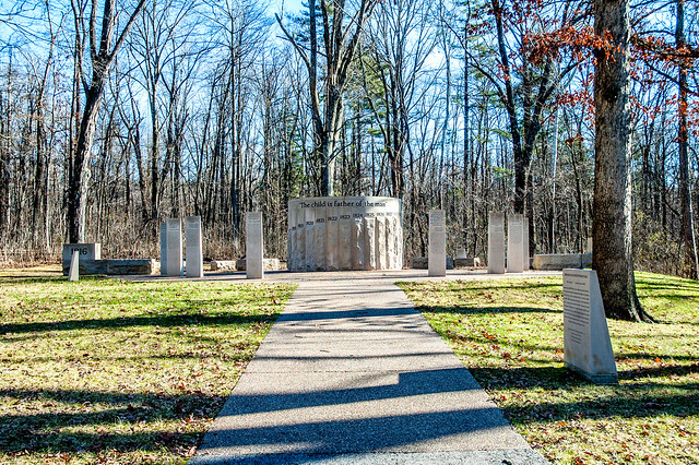 Lincoln State Park - Abraham Lincoln Bicentennial Plaza - January 5, 2015