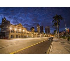 Merdeka Square, Kuala Lumpur (Rithauddin) Tags: beautiful architecture sunrise canon square documentary malaysia dataran federal hitech merdeka