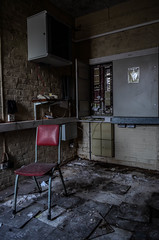 URBEX - Bridge Hotel (karllaundon) Tags: history abandoned architecture hospital chair decay corridor tiles care derelict remains damp clerical