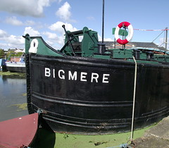 River barge 'Bigmere', National Waterways Museum, Ellesmere Port, (Snapshooter46) Tags: riverbarge ellesmereport bigmere nationalwaterwaysmuseum