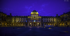 Series: Spring in Paris (Muse de Louvre) (Bernai Velarde-Light Seeker) Tags: paris france museum night europe louvre palace museo palacio musedulouvre velarde bernai