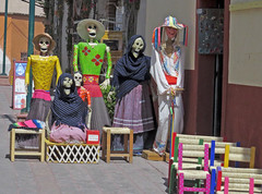 Fashionistas (David Y. Allen) Tags: dead mexico satire celebration skeletons calaca
