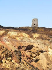 0963 The windmill ruin at the Parys Mountain copper mine (Andy in relax mode) Tags: windmill iii ruin www mmm ccc aaa ppp coppermine industrialarcheology parysmountain 20160516