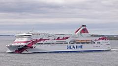 We meet the Baltic Princess in Granhamns fjord (Franz Airiman) Tags: ferry balticsea baltic siljaline archipelago stersjn tallink finlandsfrja balticprincess granhamnsfjrden
