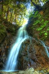 waterfall (idau yorahy) Tags: longexposure sky tree nature water rock japan river nikon d7000
