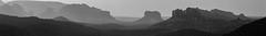 Sedona_Pano_BW (John Haggart) Tags: arizona white black pano sedona az redrocks