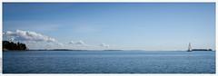 A Simple View (Mika Latokartano) Tags: blue sea water clouds espoo finland balticsea itmeri gulfoffinland sailingboat esbo suomenlahti sommar suvisaaristo