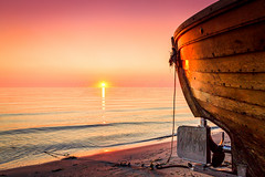 moment (pure:passion:photography) Tags: ocean travel pink sunset sea summer sky sun sunlight color nature photoshop sunrise landscape photography freedom boat fishing colorful meer sundown dream balticsea dreaming moment naturephotography trkis travelphotography landscapephotography