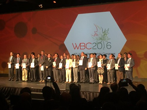 Prof. Seeram honoured as the Fellow of Biomaterials Science and Engineering at WBC2016