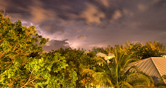 Fire in the sky (Tobin Frost) Tags: storm rain weather night clouds canon islands wind tropical lightning bahamas t3i