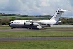 C17   KAF 343 (TF102A) Tags: aircraft aviation jet c17 prestwick kuwaitairforce