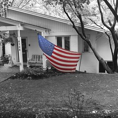 Memorial Day (IamJomo) Tags: blackandwhite bw remember maryland bethesda memorialday jomo montgomerycounty takenwithaniphone iphone6 smallworldphotos jomophoto