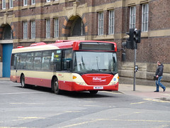 Halton 93 160401 Liverpool (maljoe) Tags: halton haltontransport haltonboroughtransport