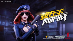 VERYCOOL TOYS VCF-TJ02 WeFire Sniper Little Sister - TJ02B Brown Hair 00 (Lord Dragon ) Tags: hot female toys actionfigure doll verycool onesixthscale 16scale 12inscale