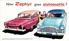Ford Zephyr (Australia) (aldenjewell) Tags: ford zephyr australia automatic postcard