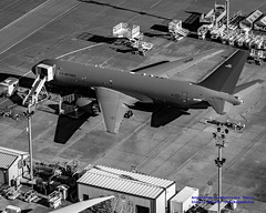 The New KC-46A Pegasus in Black & White (AvgeekJoe) Tags: usa washington nikon pegasus aerial aerialphoto dslr washingtonstate usaf aerialphotography aerialphotograph testbed painefield kpae importedkeywordtags d5300 airbornetanker kc46 nikond5300 boeingkc46apegasus kc46apegasus kc46pegasus n8428a