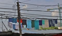 Tendederos - Clothesline (Pedro Pablo Orozco) Tags: laundry clothesline ropa terraza tendedero lavado secado santiagodecali dadelavado fotografaexperimental fotografaexperimentalcali2016