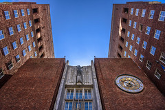 The Town Hall (dietmar-schwanitz) Tags: building oslo norway architecture skandinavien norwegen architektur townhall scandinavia rathaus gebude lightroom rdhus dietmarschwanitz nikond750 nikonafsnikkor24120mmf40ged