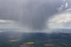 Cloud burst just north of Tibenham (John D F) Tags: weather skies norfolk