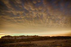 Mammatus over Ocean City New Jersey (Steve Maciejewski) Tags: cloud storm beach weather clouds shore thunderstorm eastcoast meteorology anvil mammatus ocnj oceancitynewjersey