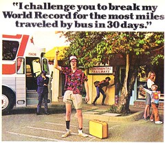 1976 - The Carter Years - Geeky Nerd Ridicule (ramalama_22) Tags: world boy bus nerd socks shirt child geek jimmy continental terminal record raspberry driver carter shorts 1970s pointing suitcase loud ridicule nutcase mockery mismatched ashamed trailways recession jeering
