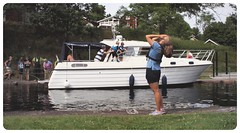 OMG!! ... (iEagle2) Tags: boat girl sweden summer olympusep2 olympuspen ep2 young female femme lock