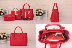 Import @260 Bag Gucci 60092 3in1 30x11x23cm 1,2kg Kulit GHW #Semipremium#Black#Brown#Babypink#Darkblue#Red#Gold (merboutique) Tags: red brown black gold darkblue babypink semipremium